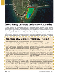 Marine Technology Magazine, page 20,  Nov 2015