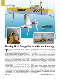 Marine Technology Magazine, page 24,  Nov 2015