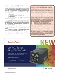 Marine Technology Magazine, page 31,  Nov 2015