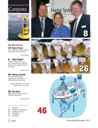 Marine Technology Magazine, page 2,  Nov 2015