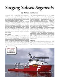 Marine Technology Magazine, page 38,  Nov 2015