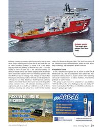 Marine Technology Magazine, page 39,  Nov 2015