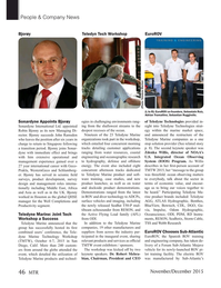 Marine Technology Magazine, page 46,  Nov 2015