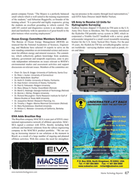 Marine Technology Magazine, page 47,  Nov 2015