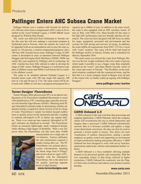 Marine Technology Magazine, page 60,  Nov 2015