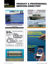 Marine Technology Magazine, page 63,  Nov 2015