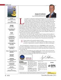 Marine Technology Magazine, page 6,  Nov 2015