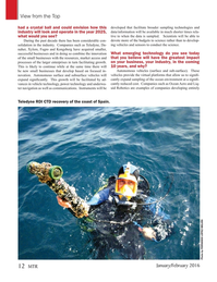Marine Technology Magazine, page 12,  Jan 2016
