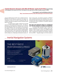 Marine Technology Magazine, page 21,  Jan 2016