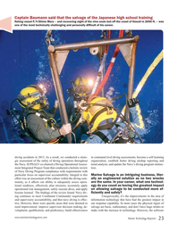 Marine Technology Magazine, page 23,  Jan 2016