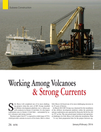 Marine Technology Magazine, page 26,  Jan 2016