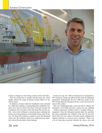 Marine Technology Magazine, page 28,  Jan 2016
