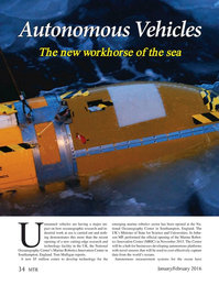 Marine Technology Magazine, page 34,  Jan 2016