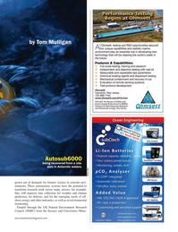 Marine Technology Magazine, page 35,  Jan 2016