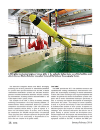 Marine Technology Magazine, page 38,  Jan 2016