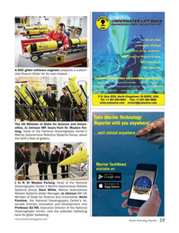 Marine Technology Magazine, page 39,  Jan 2016