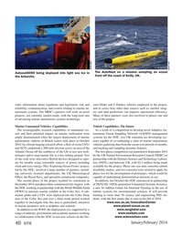 Marine Technology Magazine, page 40,  Jan 2016