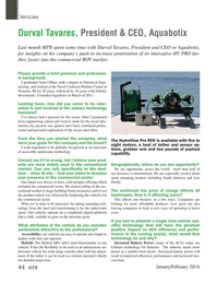 Marine Technology Magazine, page 44,  Jan 2016