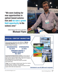 Marine Technology Magazine, page 47,  Jan 2016