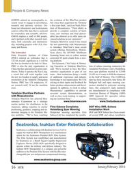 Marine Technology Magazine, page 56,  Jan 2016