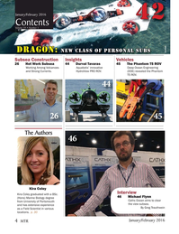 Marine Technology Magazine, page 4,  Jan 2016