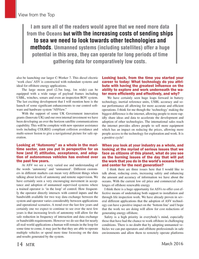 Marine Technology Magazine, page 14,  Mar 2016