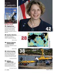 Marine Technology Magazine, page 2,  Mar 2016