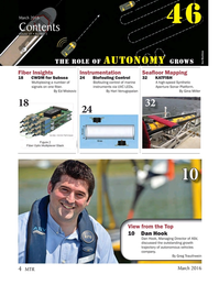 Marine Technology Magazine, page 4,  Mar 2016
