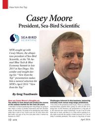 Marine Technology Magazine, page 10,  Apr 2016