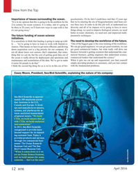 Marine Technology Magazine, page 12,  Apr 2016