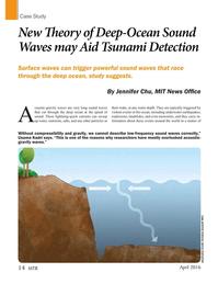 Marine Technology Magazine, page 14,  Apr 2016