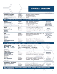 Marine Technology Magazine, page 17,  Apr 2016