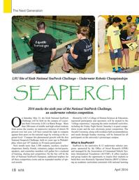 Marine Technology Magazine, page 18,  Apr 2016