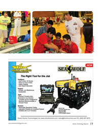 Marine Technology Magazine, page 19,  Apr 2016