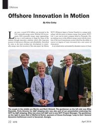 Marine Technology Magazine, page 22,  Apr 2016