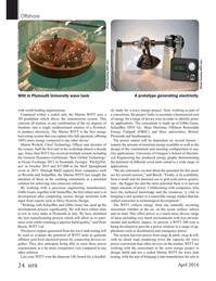 Marine Technology Magazine, page 24,  Apr 2016