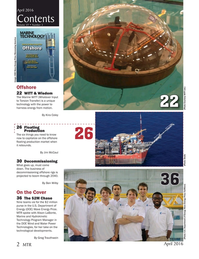 Marine Technology Magazine, page 2,  Apr 2016