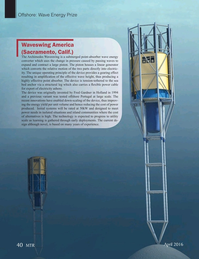 Marine Technology Magazine, page 40,  Apr 2016