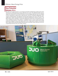 Marine Technology Magazine, page 46,  Apr 2016