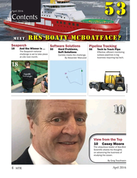 Marine Technology Magazine, page 4,  Apr 2016