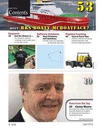 Marine Technology Magazine, page 4,  Apr 2016