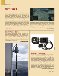 Marine Technology Magazine, page 58,  Apr 2016