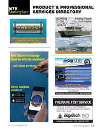 Marine Technology Magazine, page 63,  Apr 2016