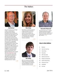 Marine Technology Magazine, page 6,  Apr 2016