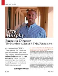 Marine Technology Magazine, page 8,  May 2016