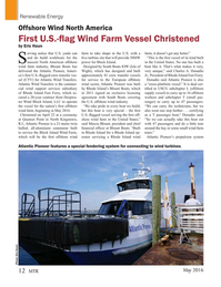 Marine Technology Magazine, page 12,  May 2016