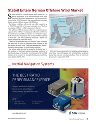 Marine Technology Magazine, page 15,  May 2016