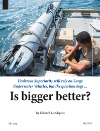 Marine Technology Magazine, page 16,  May 2016