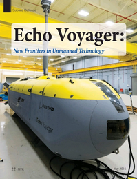 Marine Technology Magazine, page 22,  May 2016