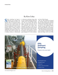 Marine Technology Magazine, page 23,  May 2016
